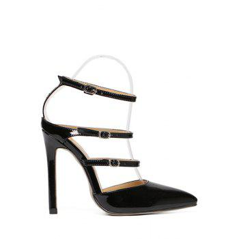 Stylish Buckles and Pointed Toe Design Sandals For Women