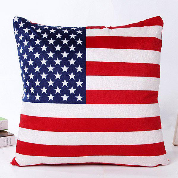 High Quality Square Shape Colorful Flag Pattern Pillow Case(Without Pillow Inner)