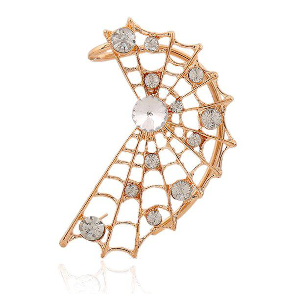 ONE PIECE Stylish Rhinestone Cobweb Shape Earring For Women