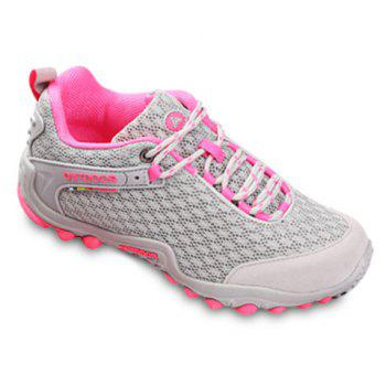 Casual Splicing and Lace-Up Design Sneakers For Women