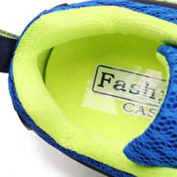 Casual Splicing and Lace-Up Design Sneakers For Men - 39 39