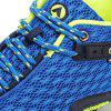 Casual Splicing and Lace-Up Design Sneakers For Men - SAPPHIRE BLUE 42