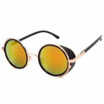 Chic Golden Double-Deck Frame Women's Sunglasses
