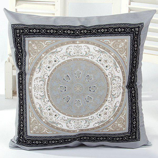High Quality Simple Circle Pattern Pillow Case(Without Pillow Inner) - COLORMIX