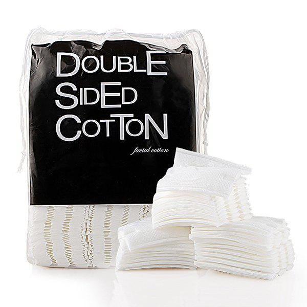 Cosmetic 200 Pcs/Bag Supersoft Pure Cotton Double-Sided Double-Effect Cotton Pads - WHITE