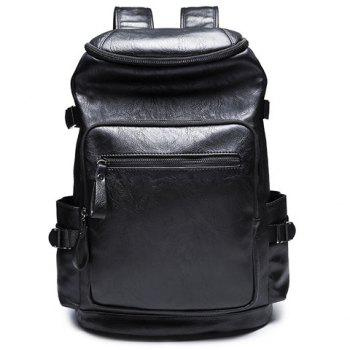 Trendy Zipper and Black Colour Design Men's Backpack