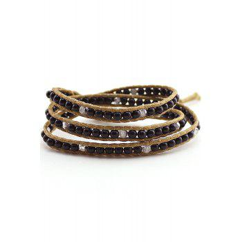 Multi-Layered Bead Wrap Bracelet