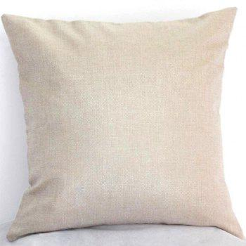 High Quality Letters Pattern Linen Cotton Pillow Case(Without Pillow Inner) - COLORMIX