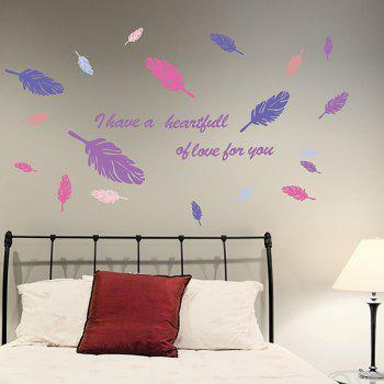 High Quality Colorful Leather Pattern Removeable Wall Stickers - COLORMIX