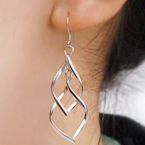 Cut Out Geometric Drop Earrings