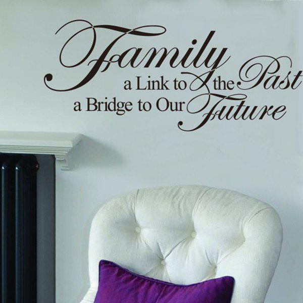 High Quality Solid Color Letter Pattern Removeable Background Wall Sticker
