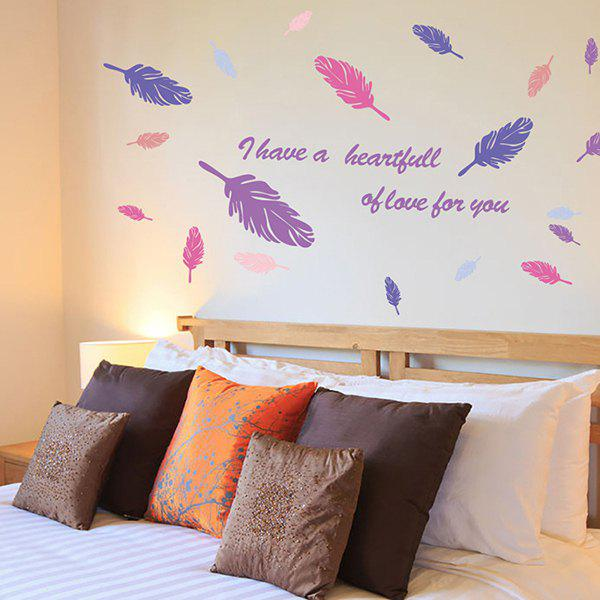 High Quality Colorful Leather Pattern Removeable Wall Stickers