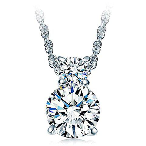 Stunning Rhinestone Pendant Necklace For Women