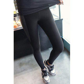 Stylish High Waist Spliced Bodycon Yoga Pants For Womrn