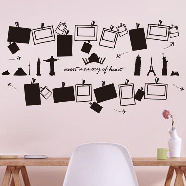 High Quality Photo Frame Shape Removeable Wall Stickers