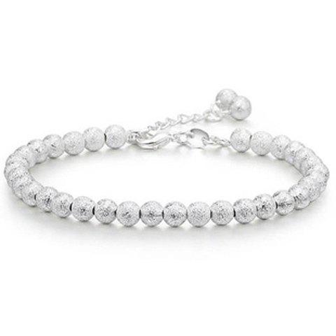 Sweet Solid Color Beads Bracelet For Women