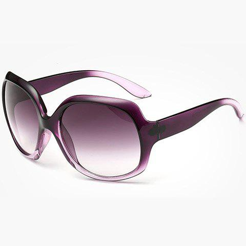 Chic Gradient Color Frame Women's Sunglasses