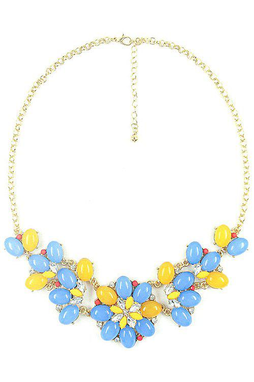 Stylish Fresh Style Floral Necklace For Women