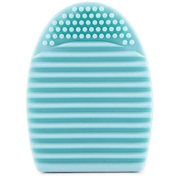 Cosmetic Makeup Brush Cleaning Tool Silicone Wash Board