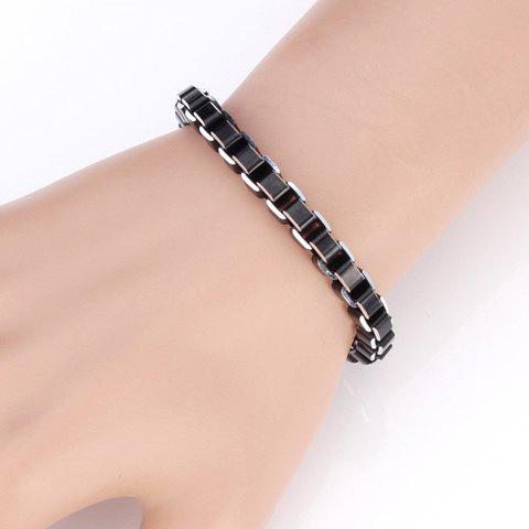 Delicate Alloy Bracelet For Women - BLACK