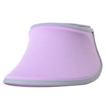 Simple UV Proof Candy Color Beach Sun Hat Visors