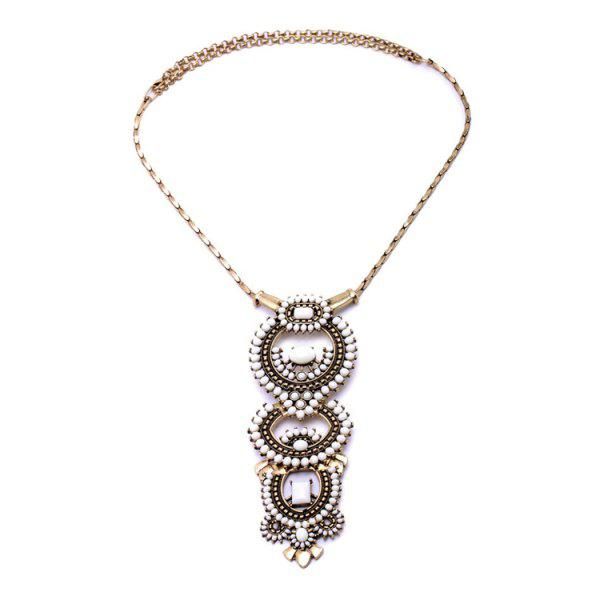Vintage Bead Decorated Necklace For Women