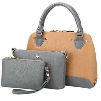Fashion Lichee Pattern and PU Leather Design Tote Bag For Women