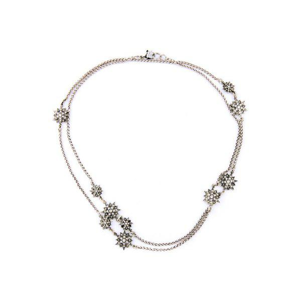 Fashionable Alloy Star Necklace For Women
