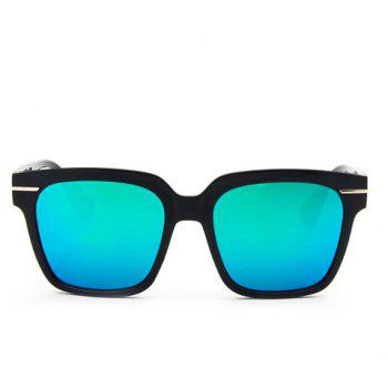 Buy Chic Star Shape Inlay Embellished Square Frame Women's Sunglasses GREEN