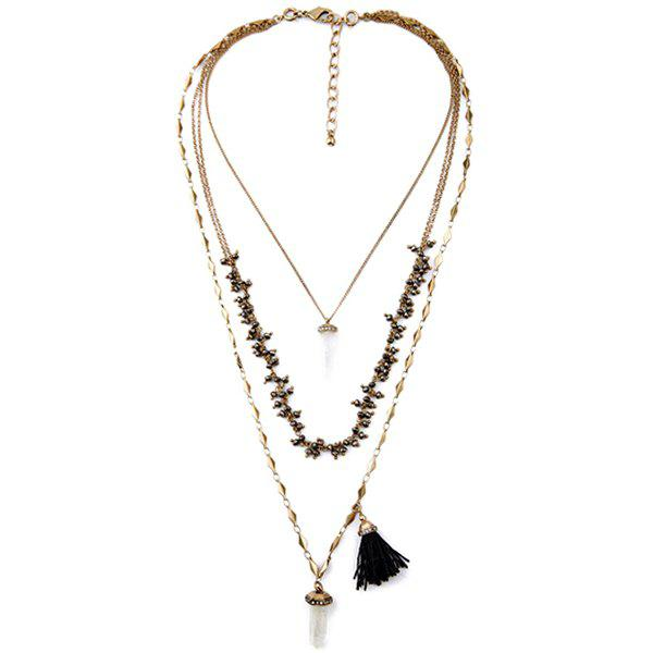 Vintage Multi-Layered Long Style Necklace For Women