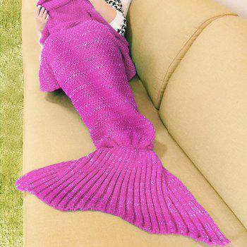 Warm Fishtail Blanket - ROSE ONE SIZE(FIT SIZE XS TO M)