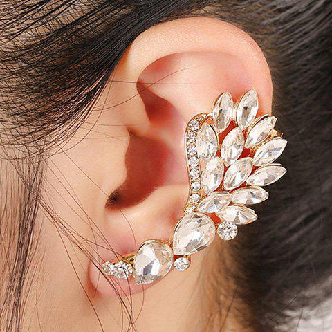 ONE PIECE Chic Rhinestone Faux Crystal Cartilage Earring For Women