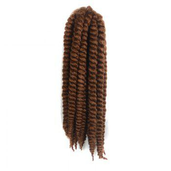 Kanekalon Synthetic Stylish Long Twist Braided Hair Extension