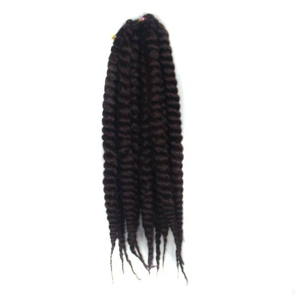 100 Percent Kanekalon Synthetic Stylish Long Women's Twist Braided Hair Extension