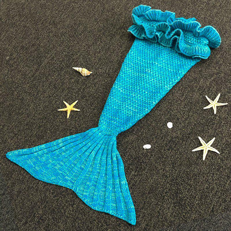 Douce Main Tricot Mermaid Design Bébé Sac de couchage Blanket - Pers ONE SIZE(FIT SIZE XS TO M)