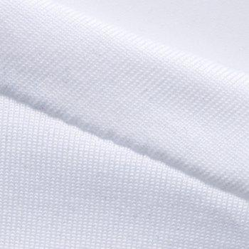 Simple Solid Color Round Neck Short Sleeve Men's T-Shirt - WHITE WHITE