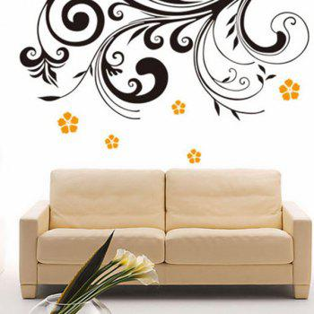 High Quality Blossom Pattern Removeable Wall Stickers