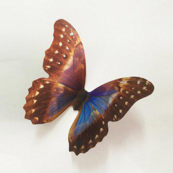 Good Quality 3D Colorful Butterflies Shape Pattern Removeable Wall Stickers - COLORMIX