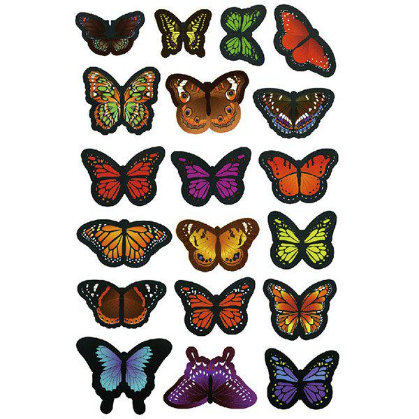 Good Quality 3D Colorful Butterflies Shape Removeable Wall Stickers