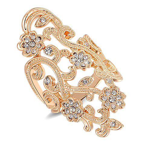 Gorgeous Rhinestone Hollow Out Ring For Women