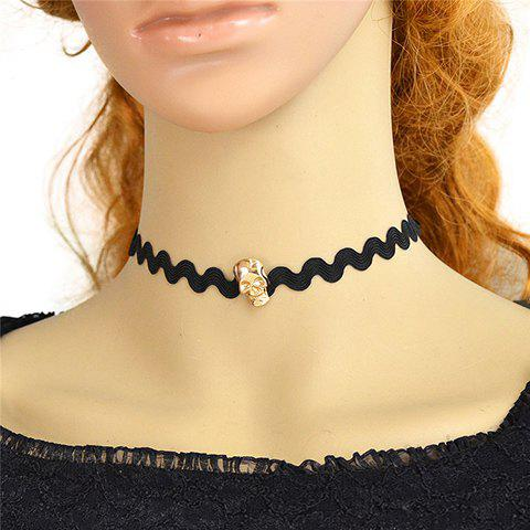 Chic Skull Choker Necklace For Women
