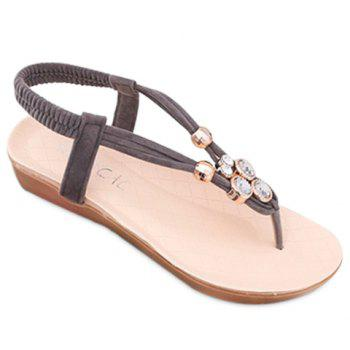 Casual Flip Flops and Elastic Band Design Sandals For Women