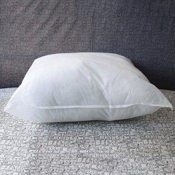 Fashionable Comfortable Home Decoration Cotton Pillow Inner - WHITE