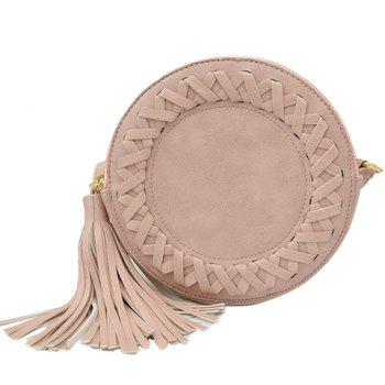 Fashionable Tassels and PU Leather Design Crossbody Bag For Women