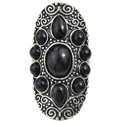 Chic Water Drop Beads Ring For Women