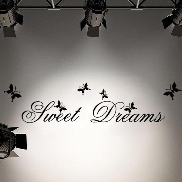 High Quality Sweet Dream Pattern Removeable Wall Sticker