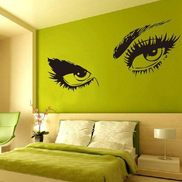 High Quality Sexy Eye Pattern Removeable Wall Sticker