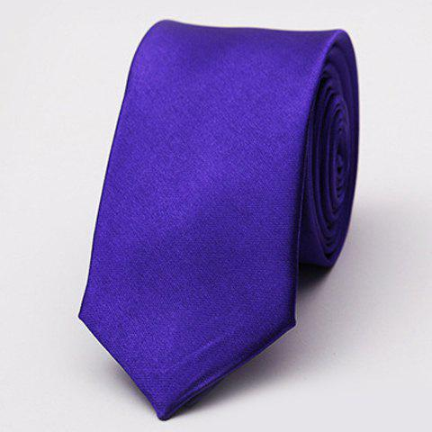 Stylish Various Candy Colors 5CM Width Men's Tie - AMETHYST