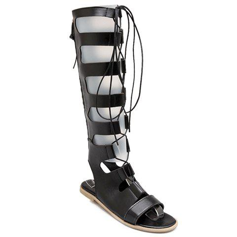 Lace Up Knee High Gladiator Sandals free shipping new 8gb digital voice audio digital recorder recorder dictaphone with mp3 player function