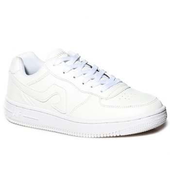 Fashion Lace-Up and PU Leather Design Sneakers For Women